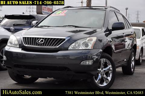 Hi Auto Sales >> Cars For Sale In Westminster Ca Hi Auto Sales