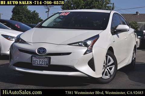 2018 Toyota Prius for sale in Westminster, CA