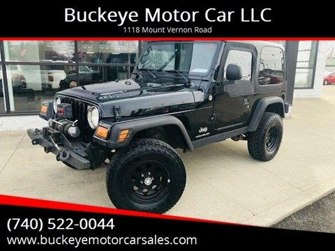 2004 Jeep Wrangler for sale in Newark, OH