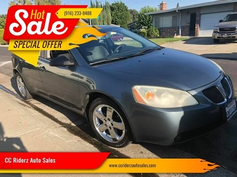 2005 Pontiac G6 for sale in Sacramento, CA