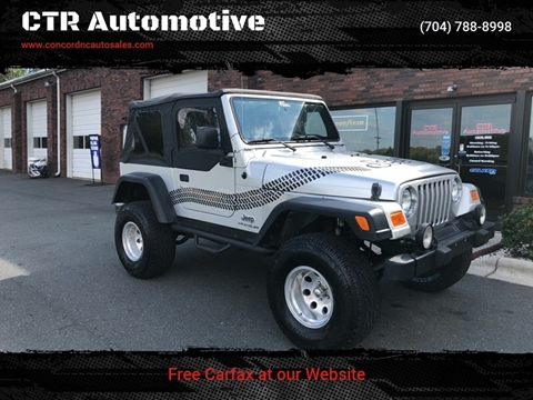2005 Jeep Wrangler for sale in Concord, NC
