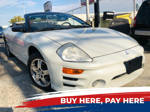 2003 Mitsubishi Eclipse Spyder for sale at GW MOTORS in Newark NJ