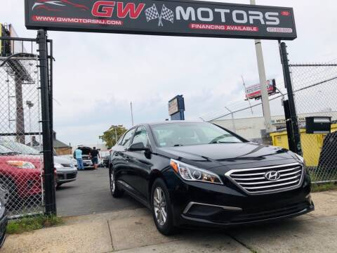 2017 Hyundai Sonata for sale at GW MOTORS in Newark NJ