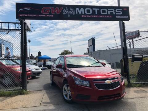 2014 Chevrolet Cruze for sale at GW MOTORS in Newark NJ