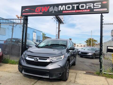 2018 Honda CR-V for sale at GW MOTORS in Newark NJ