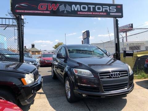 2008 Audi Q7 for sale at GW MOTORS in Newark NJ