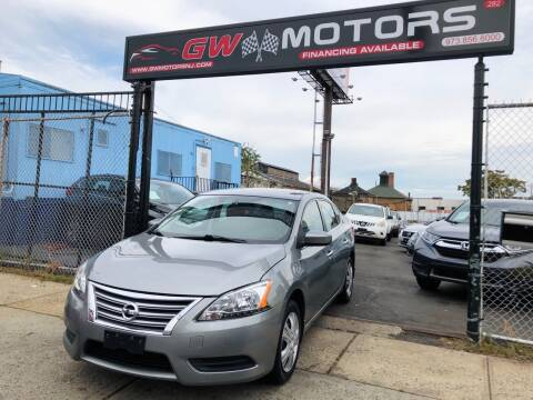 2014 Nissan Sentra for sale at GW MOTORS in Newark NJ