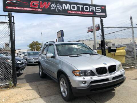2004 BMW X5 for sale at GW MOTORS in Newark NJ