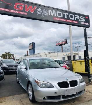 2007 BMW 5 Series for sale at GW MOTORS in Newark NJ
