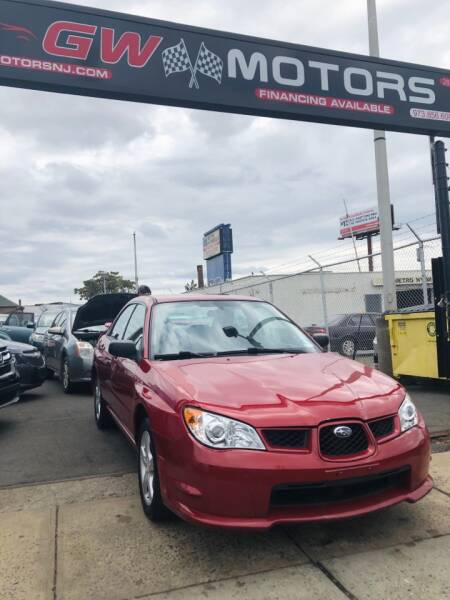 2007 Subaru Impreza for sale at GW MOTORS in Newark NJ
