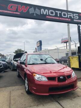 2007 Subaru Impreza for sale at GW MOTORS in Newark NJ