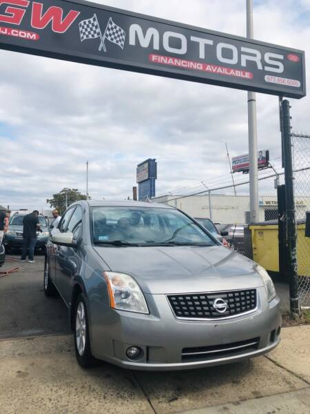 2008 Nissan Sentra for sale at GW MOTORS in Newark NJ