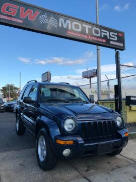 2003 Jeep Liberty for sale at GW MOTORS in Newark NJ