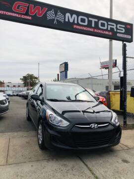 2016 Hyundai Accent for sale at GW MOTORS in Newark NJ