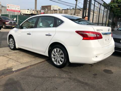 2016 Nissan Sentra for sale at GW MOTORS in Newark NJ