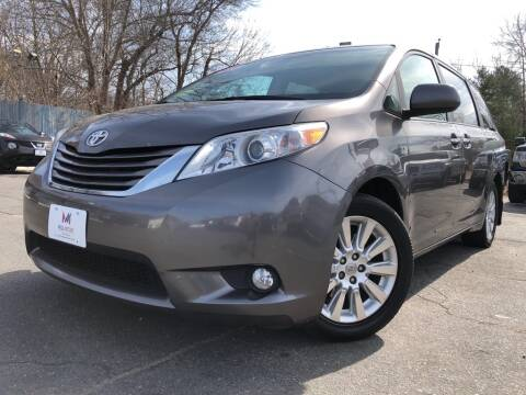 2011 Toyota Sienna XLE 7-Passenger for sale at Mega Motors in West Bridgewater MA