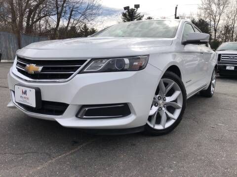 2016 Chevrolet Impala LT for sale at Mega Motors in West Bridgewater MA