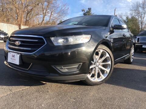 2014 Ford Taurus Limited for sale at Mega Motors in West Bridgewater MA