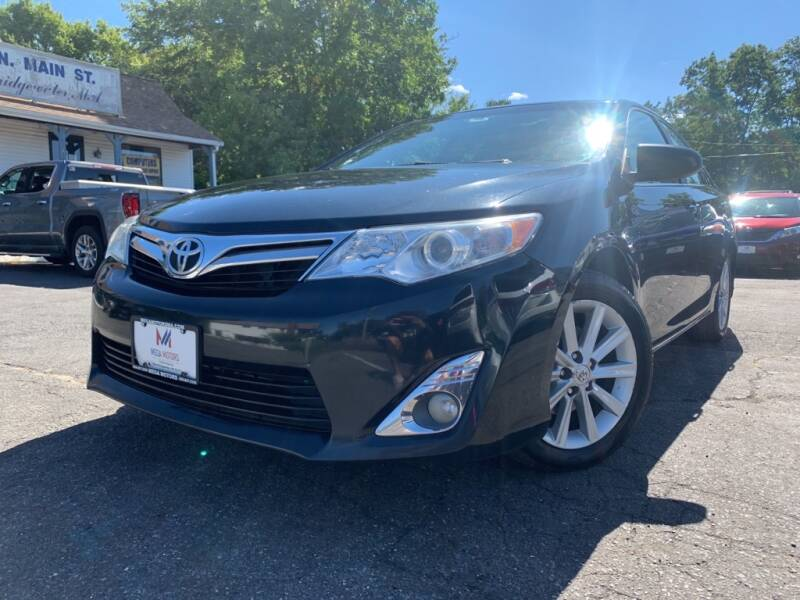 2012 Toyota Camry for sale at Mega Motors in West Bridgewater MA