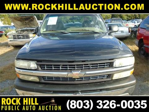 2002 Chevrolet Silverado 1500 for sale in Rock Hill, SC