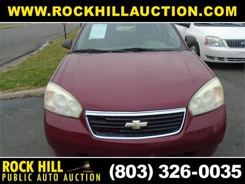 Rock Hill Public Auction >> 2007 Chevrolet Malibu For Sale In Rock Hill Sc