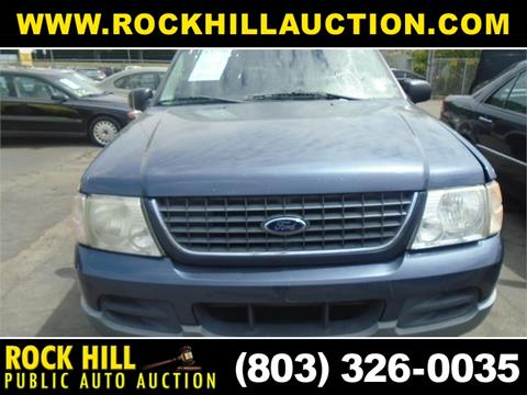 Rock Hill Public Auction >> 2002 Ford Explorer For Sale In Rock Hill Sc