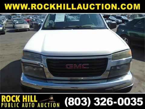 2004 GMC Canyon for sale in Rock Hill, SC