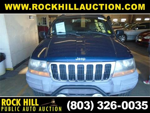 Rock Hill Public Auction >> 2000 Jeep Grand Cherokee For Sale In Rock Hill Sc