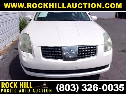 Rock Hill Public Auction >> 2006 Nissan Maxima For Sale In Rock Hill Sc