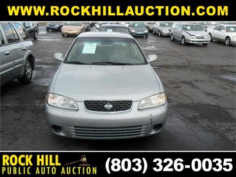 Rock Hill Public Auction >> 2002 Nissan Sentra For Sale In Rock Hill Sc