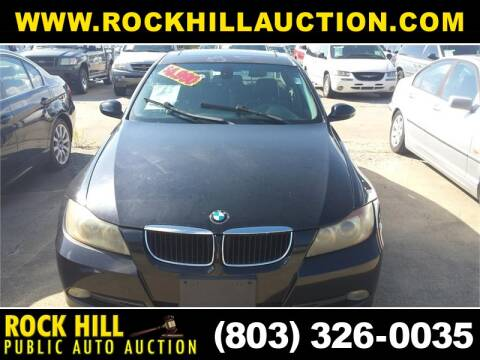 2006 BMW 3 Series 325i for sale at ROCK HILL PUBLIC AUTO AUCTION in Rock Hill SC
