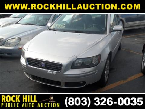 2004 Volvo S40 T5 for sale at ROCK HILL PUBLIC AUTO AUCTION in Rock Hill SC