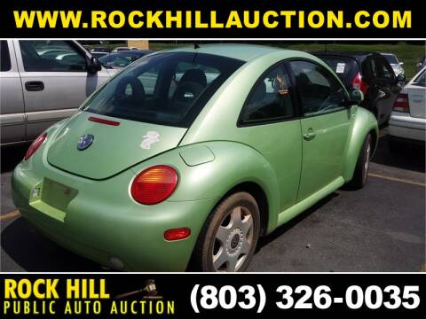 2000 Volkswagen New Beetle GLS for sale at ROCK HILL PUBLIC AUTO AUCTION in Rock Hill SC