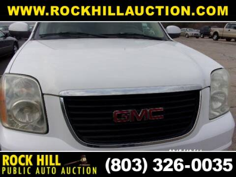 2007 GMC Yukon XL for sale at ROCK HILL PUBLIC AUTO AUCTION in Rock Hill SC