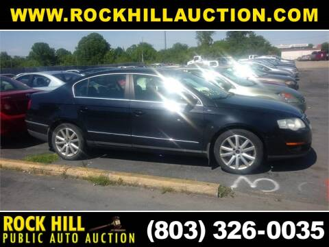 2006 Volkswagen Passat 3.6 for sale at ROCK HILL PUBLIC AUTO AUCTION in Rock Hill SC