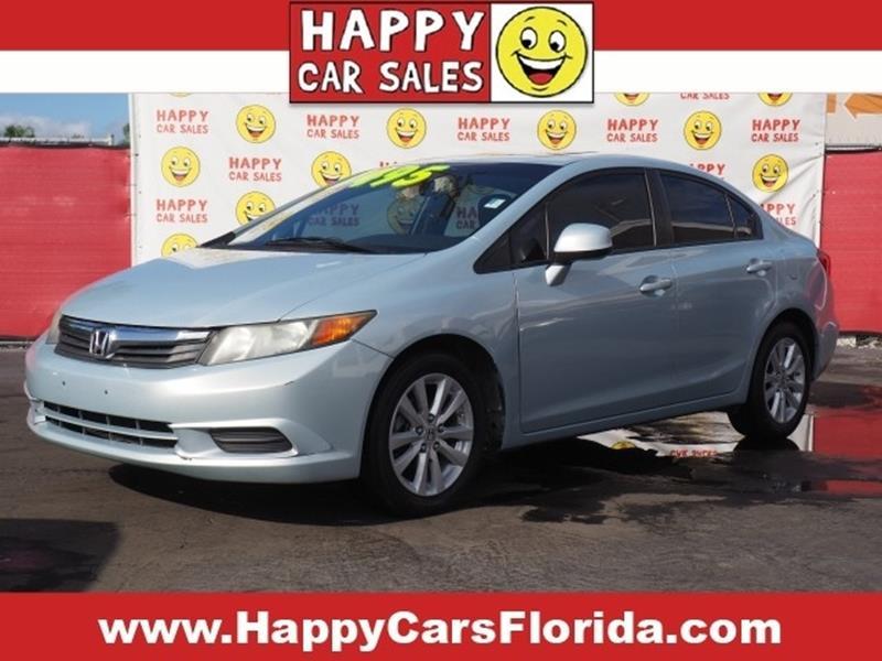 2012 Honda Civic In Fort Lauderdale Fl Happy Car Sales