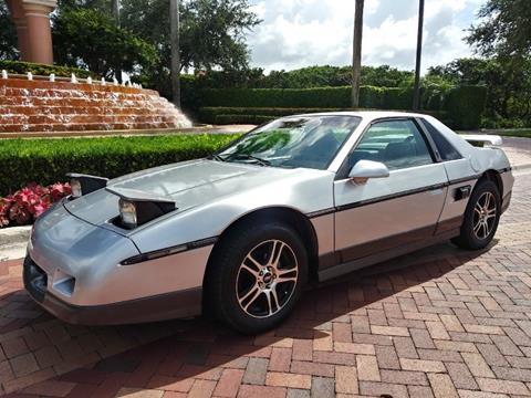 1987 Pontiac Fiero for sale in Fort Lauderdale, FL