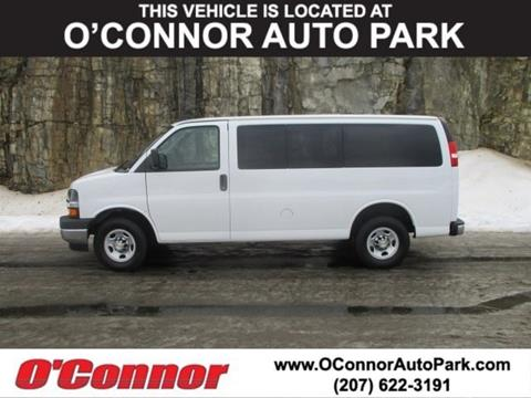 2018 Chevrolet Express Passenger for sale in Augusta, ME