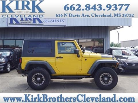 2008 Jeep Wrangler for sale in Cleveland, MS