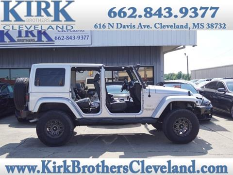 2012 Jeep Wrangler Unlimited for sale in Cleveland, MS