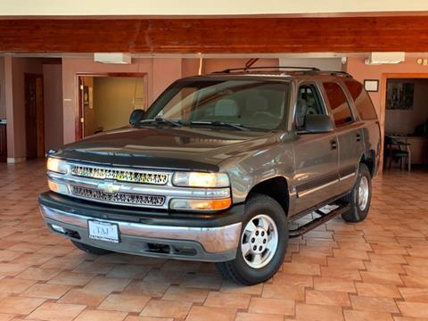 2001 Chevrolet Tahoe for sale in Vallejo, CA