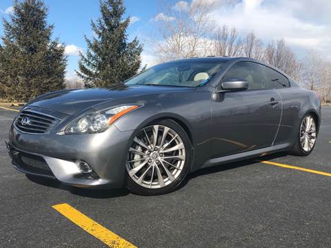 2012 Infiniti G37 Coupe for sale at Car Stars in Elmhurst IL