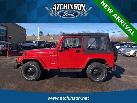 1998 Jeep Wrangler for sale in Belleville, MI