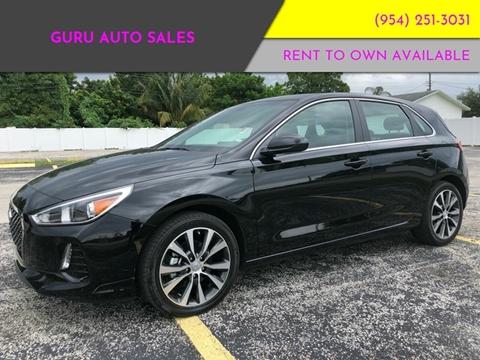 2019 Hyundai Elantra GT for sale in Miramar, FL