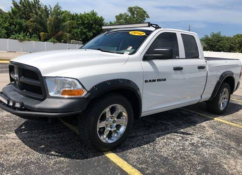 2012 RAM Ram Pickup 1500 for sale in Miramar, FL