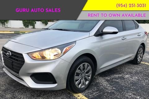 2018 Hyundai Accent for sale in Miramar, FL