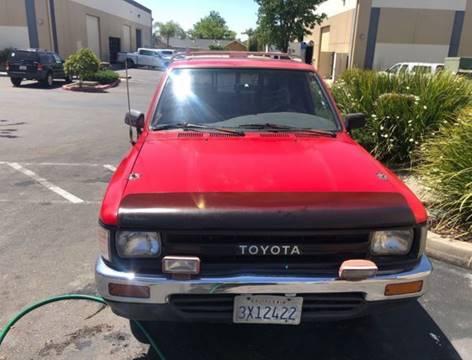 1990 Toyota Pickup For Sale In Sacramento Ca