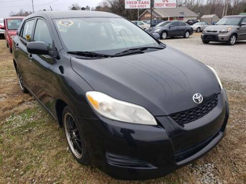 2009 Toyota Matrix for sale at Scarletts Cars in Camden TN