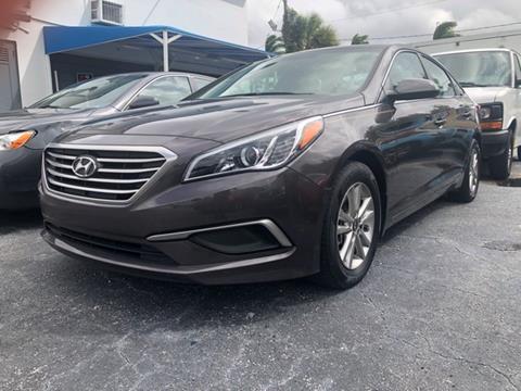 2017 Hyundai Sonata for sale in West Palm Beach, FL