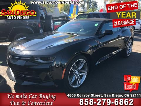2017 Chevrolet Camaro for sale in San Diego, CA